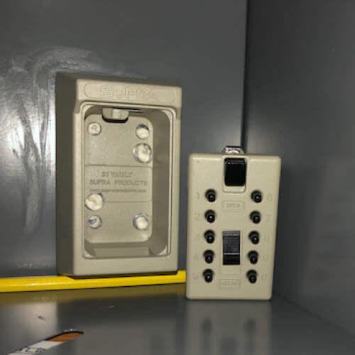 MILKBOX_S5EPO,coffre à clés à code - boîte à clés sécurisée