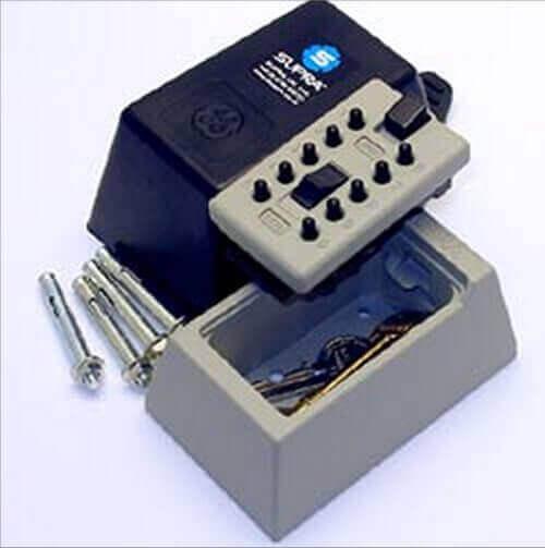 SUPRAS5,boîte à lait - boîte à clés à code