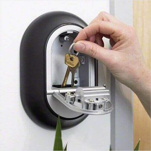 Y500,coffre à clés à code - coffre à clés mural