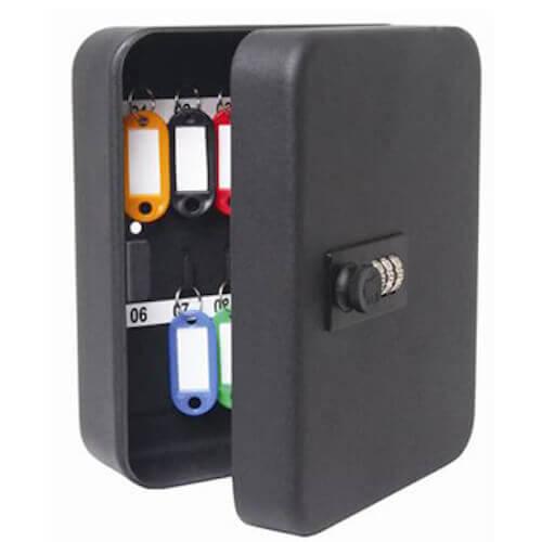 YKC20,boîte à clés sécurisée - coffre à clés à code